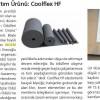 Yılın En İyi Isı Yalıtım Ürünü Coolflex HF