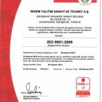 ISO 9001 SERTİFİKASI